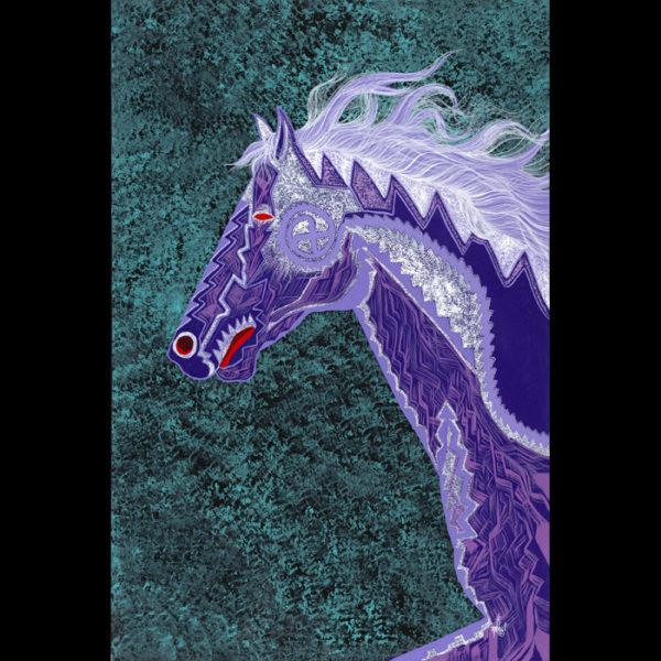 Purple Wind IIGiclees