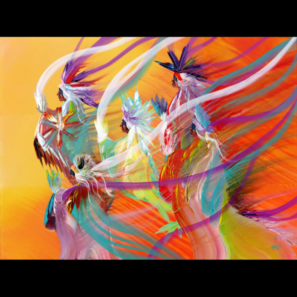 Rainbow DanceGiclees