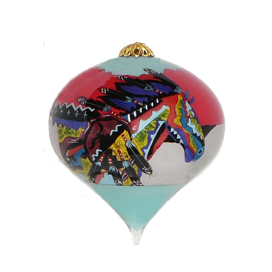 Dancing Colors Ornament